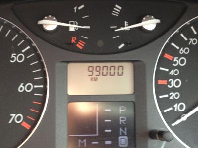 99000km