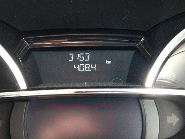2014年7月の燃費