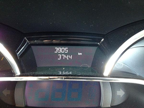2014年8月の燃費