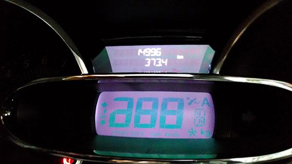 ルーテシア 2016年2月の燃費
