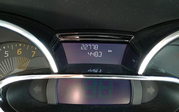 2017年2月の燃費