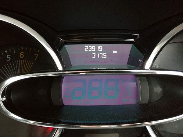 2017年4月の燃費