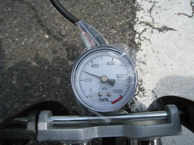 BAL ツインシリンダー高圧フットポンプ