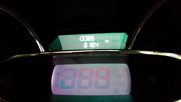 2015年11月の燃費