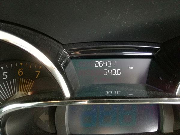 2017年8月の燃費
